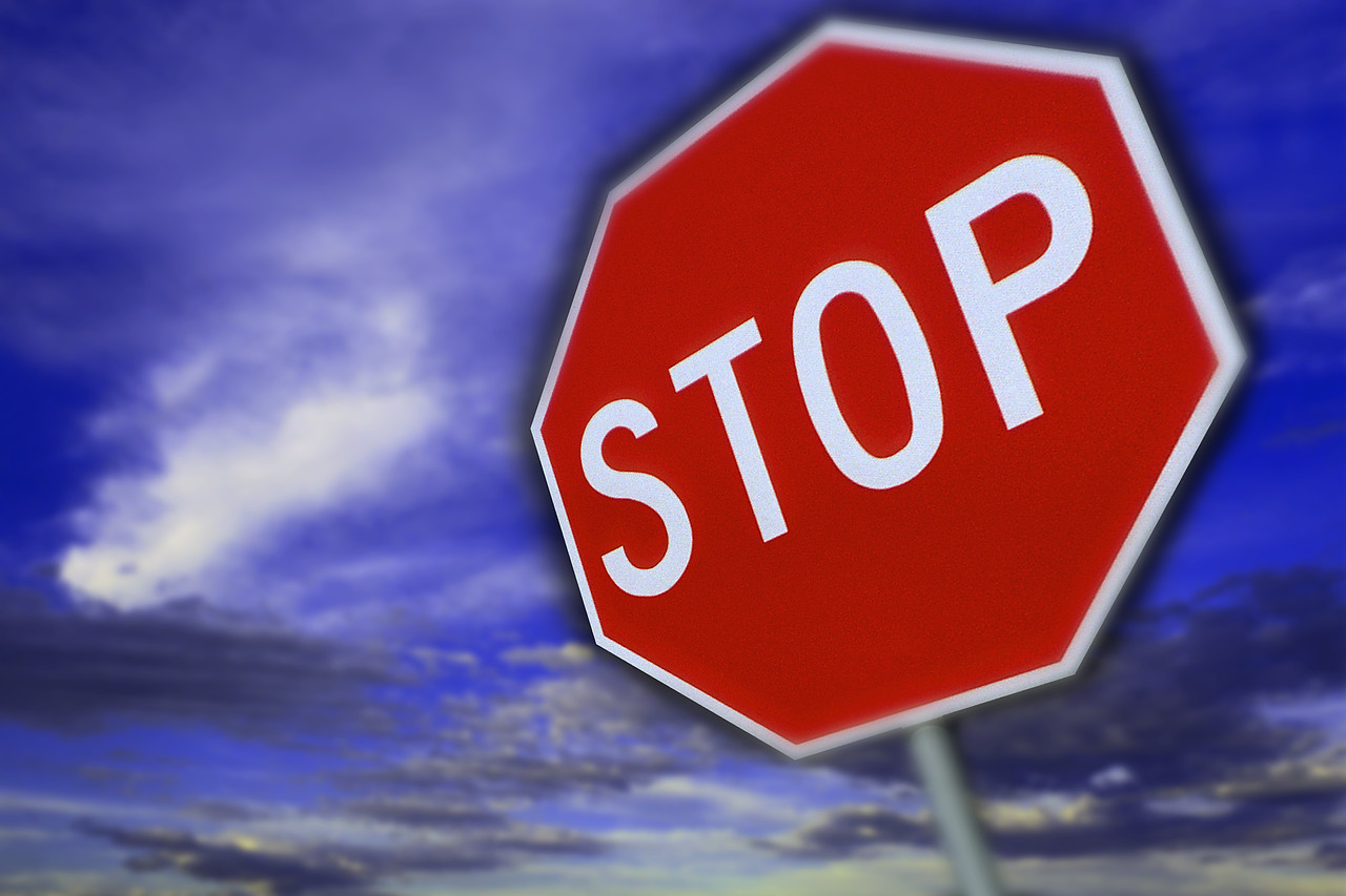 Stop Sign ca. 1990s